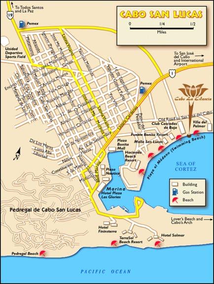 Cabo San Lucas (Los Cabos) Map